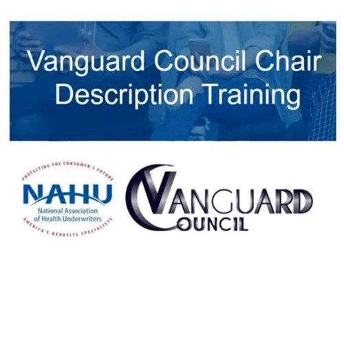 Vanguard Council Chair Training